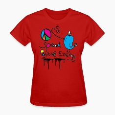 Blue bird  peace Women's standard T-shirt