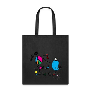 Positive energy Peace Tote Bag - Tote Bag