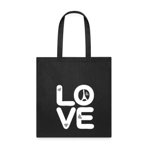 LOVE Paris Tote Bag - Tote Bag