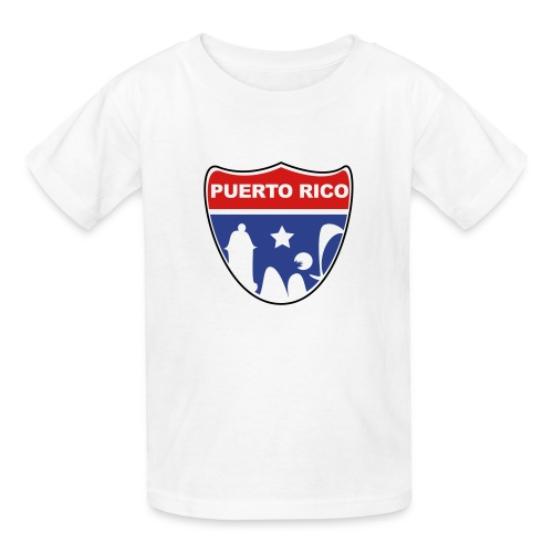 Puerto Rico Road Kids - Kids' T-Shirt