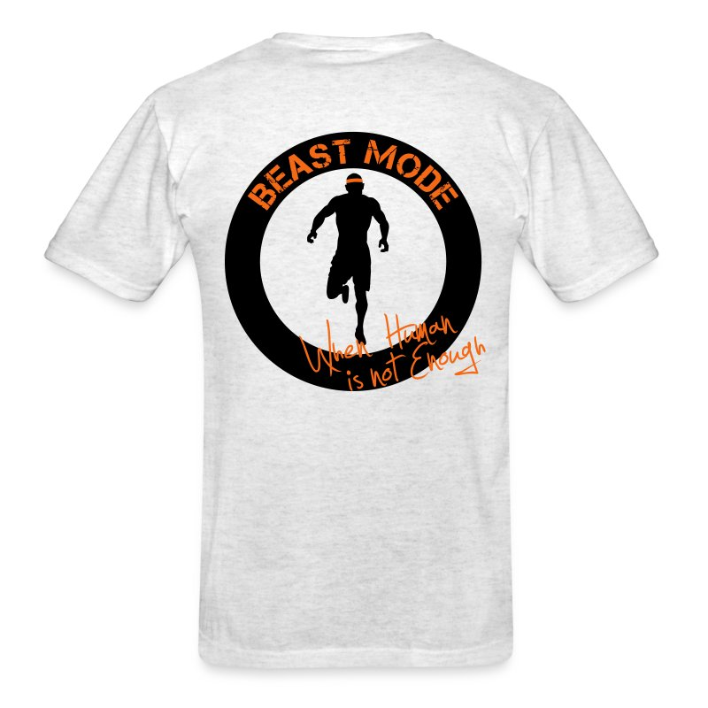 BEAST...when human is not enough - Men's T-Shirt