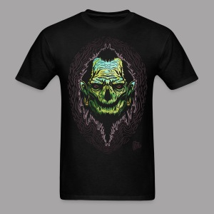 Big J Zombie Shrunken head tiki Men's T Shirt - Men's T-Shirt