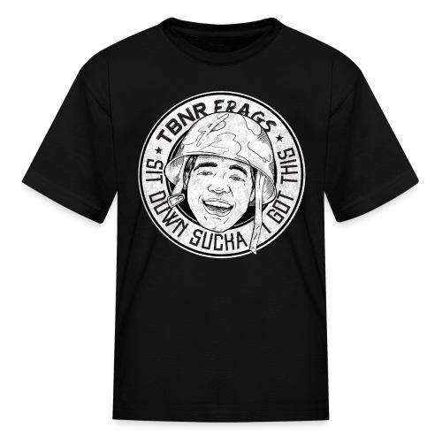 Sit Down Sucka I Got This B&W (M) - Kids' T-Shirt