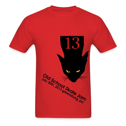 2013 Skate Jam Kitty (Men's) - Men's T-Shirt