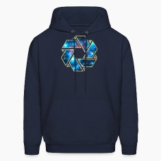 Double Mobius strip, crop circle, non-duality  Hoodies