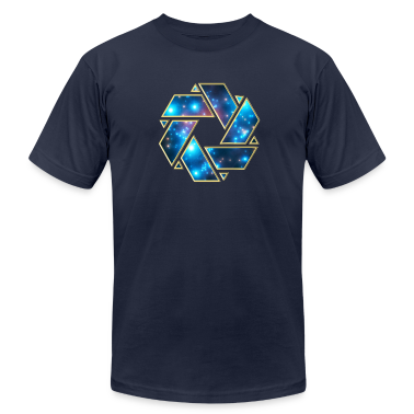 Double Mobius strip, crop circle, non-duality  T-Shirts