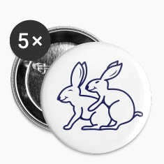 Sexy Rabbits Buttons