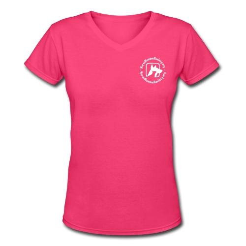 HHS V Neck - Women's V-Neck T-Shirt