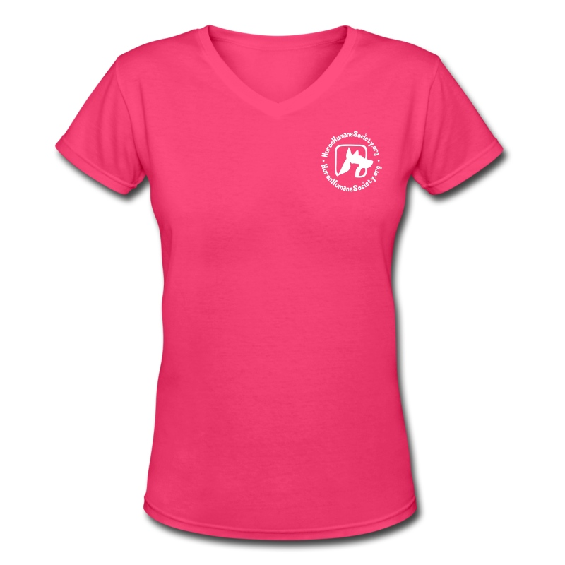 HHS V Neck - Women's V-Neck T-Shirt