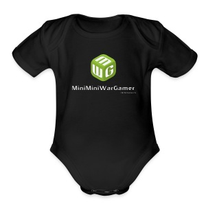MiniMiniWarGamer One Piece - Short Sleeve Baby Bodysuit