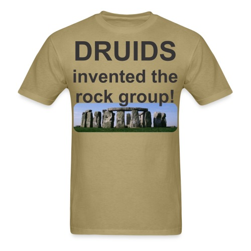 Druid rock group - Men's T-Shirt