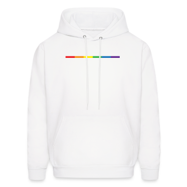 Gay Rainbow Symbol Hoodies