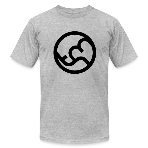 Simplicity (Black) - Men's Fine Jersey T-Shirt