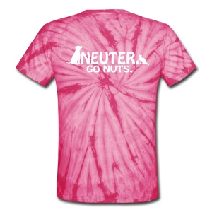 HHS V Neck - Unisex Tie Dye T-Shirt