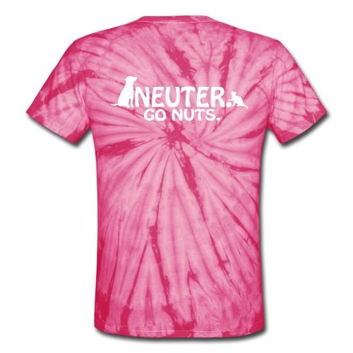 HHS V Neck - Unisex Tie Dye T-Shirt