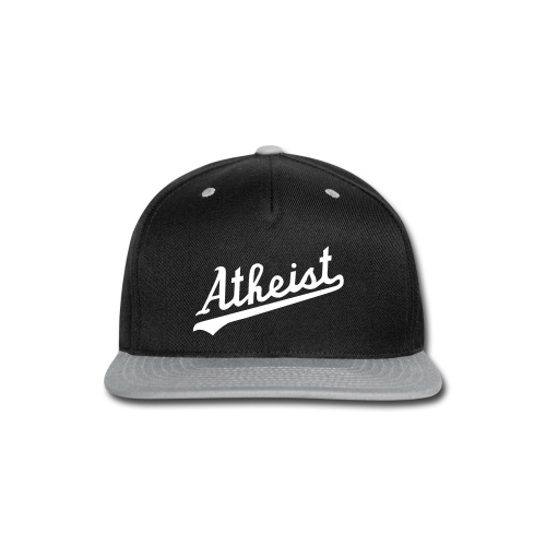 Team Atheist Baseball Cap by Tai's Tees - Snap-back Baseball Cap