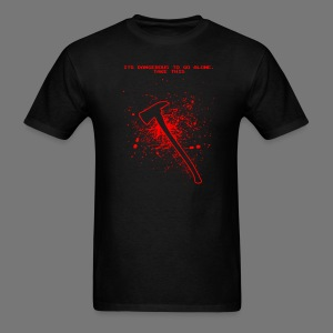 """It's Dangerous"" Tomahawk - Men's T-Shirt"