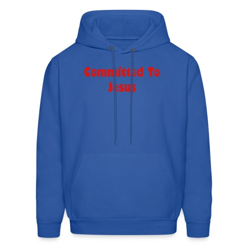 Committed To Jesus - Men's Hoodie