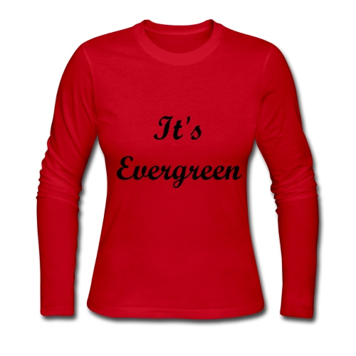 Evergeen, red, Women, Longsleeve T-shirt - Women's Long Sleeve Jersey T-Shirt