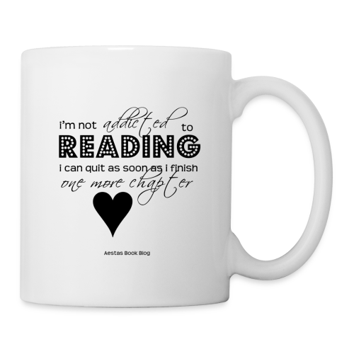 I'm not addicted to reading - script (BLACK).png - Coffee/Tea Mug