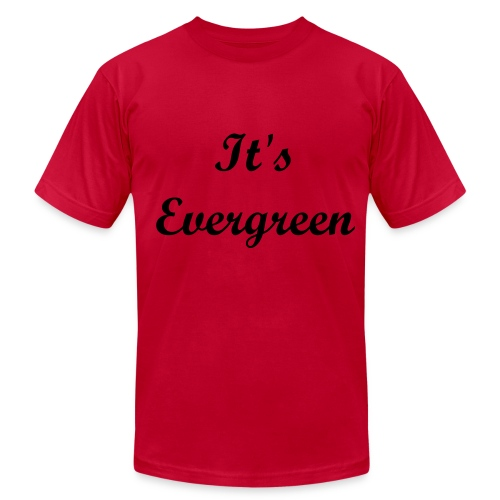 Evergeen red, Men T-shirt - Men's  Jersey T-Shirt
