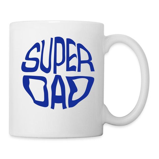 Fabspark Funny Lovable T Shirts Super Dad Mag Coffeetea Mug