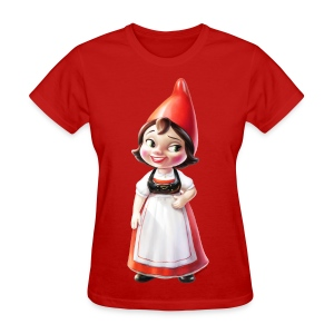 Juliet Adult Ladies T-Shirt from Gnomeo and Juliet the Movie - Women's T-Shirt