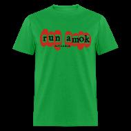 T-Shirts ~ Men's T-Shirt ~ run amok - aotearoa