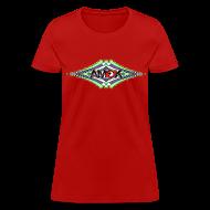 Women's T-Shirts ~ Women's T-Shirt ~ AMOK geometric waves