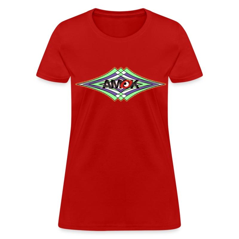 AMOK geometric waves - Women's T-Shirt