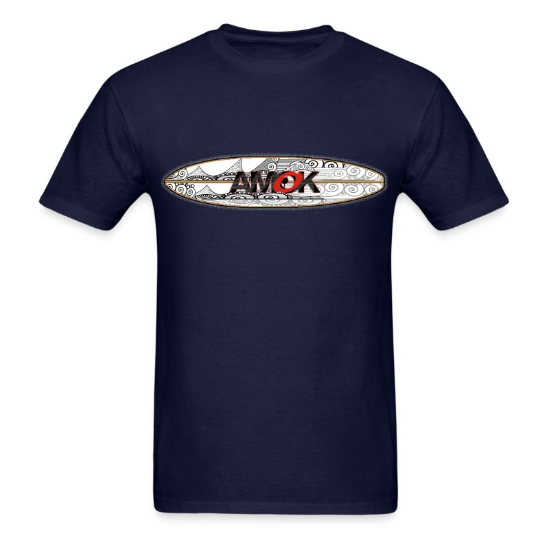 AMOK - tribal breaker surfboard - Men's T-Shirt