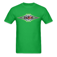 T-Shirts ~ Men's T-Shirt ~ AMOK geometric waves