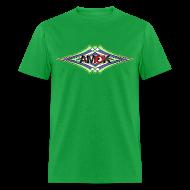 T-Shirts ~ Men's T-Shirt ~ AMOK geometric waves