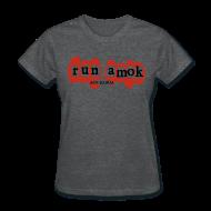 Women's T-Shirts ~ Women's T-Shirt ~ run amok - aotearoa