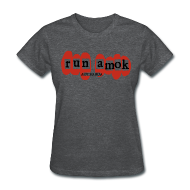 T-Shirts ~ Women's T-Shirt ~ run amok - aotearoa