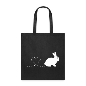 'Pooping Heart Rabbit' Tote/Shopping Bag - Tote Bag