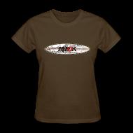 Women's T-Shirts ~ Women's T-Shirt ~ AMOK - tribal breaker surfboard