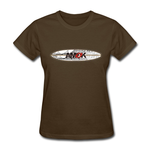 AMOK - tribal breaker surfboard - Women's T-Shirt
