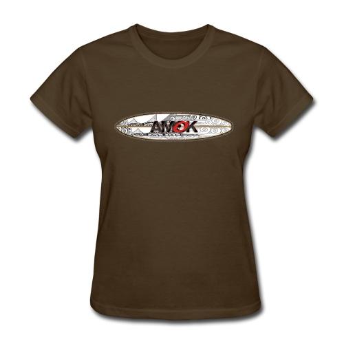 AMOK - tribal breaker surfboard - Women's T-Shirt