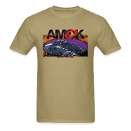 T-Shirts ~ Men's T-Shirt ~ AMOK - aoraki / mt. cook