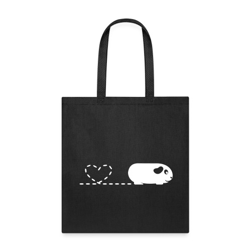 'Pooping Heart' Guinea Pig Tote Shopping Bag - Tote Bag