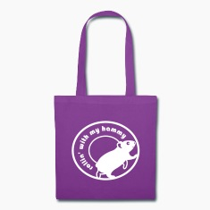 'Rollin' with my Hammy' Shopping Tote Bag
