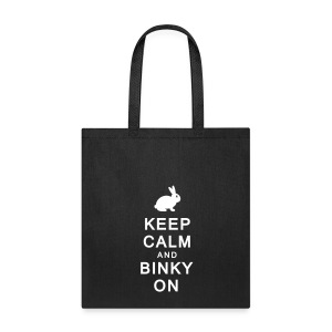 'Keep Calm & Binky On' Tote Shopping Bag  - Tote Bag