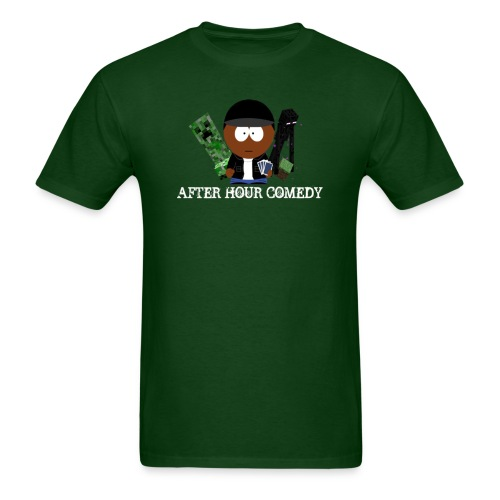 After Hour Comedy Minecraft Series T - Men's T-Shirt