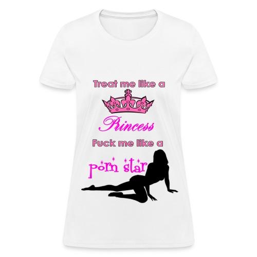 Porn Princess - Women's T-Shirt