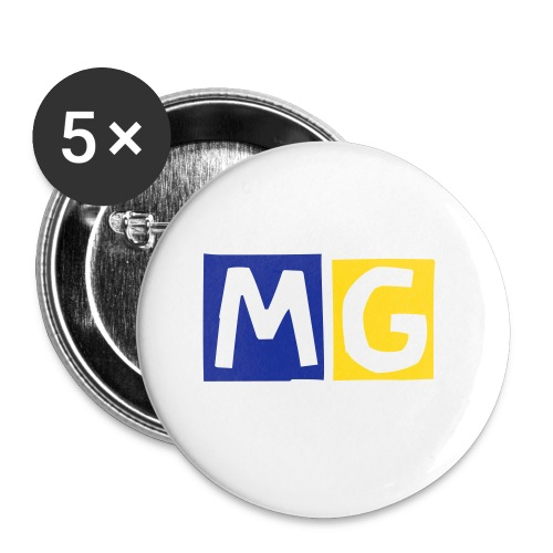 5 Pack Of 25mm Buttons - Small Buttons