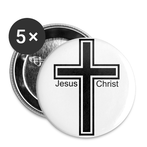 Jesus Christ Pin - Large Buttons