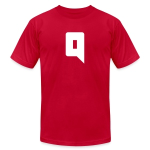 Quxxn Logo Tee - Men's T-Shirt by American Apparel