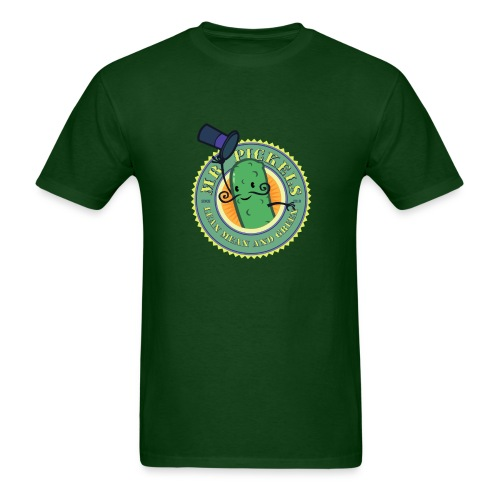 HTF - Mr Pickels - lean mean and green - Men's T-Shirt