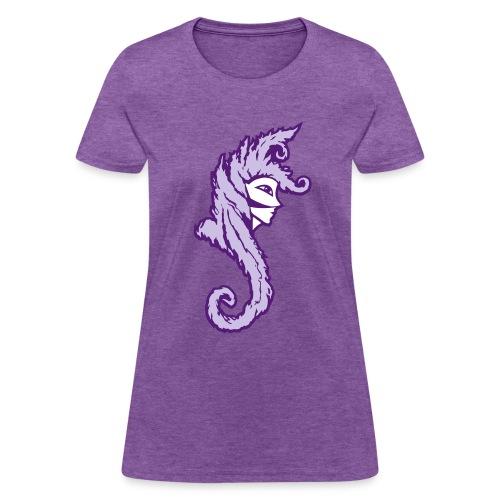 Okami (Purple/Lavender) Women's Standard Weight T-Shirt - Women's T-Shirt